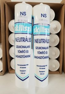 Szkillszil NS neutrális fehér szaniter ragasztó